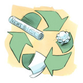 回收纸活动指南