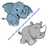 珍·古道尔博士关于保护犀牛和大象的致辞
